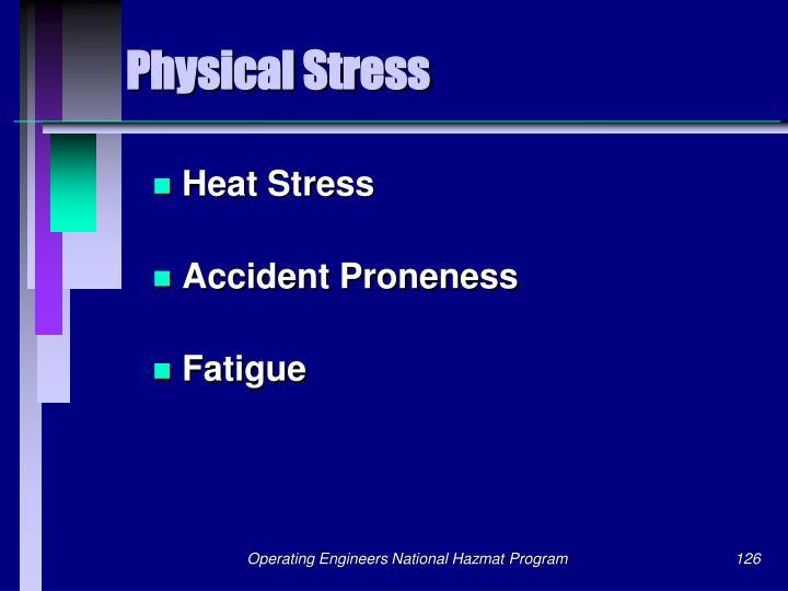 Physical Stress