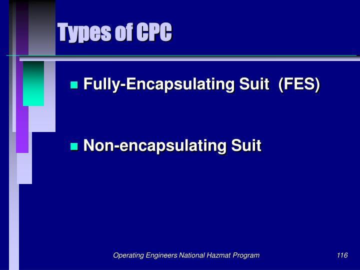 Types of CPC