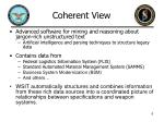 coherent view