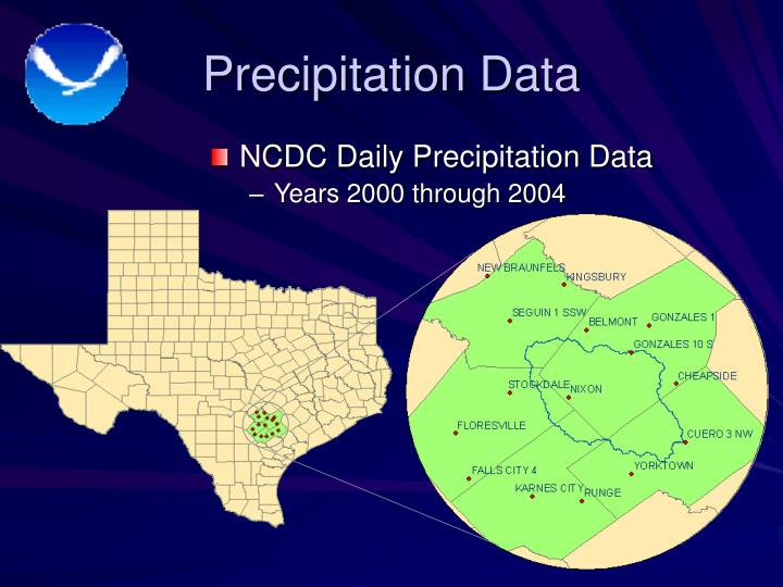 Precipitation Data