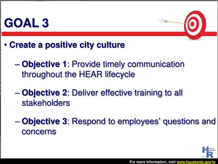 Create a positive city culture