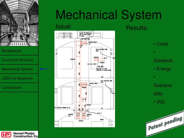 Mechanical System