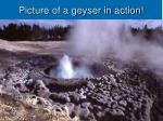 picture of a geyser in action