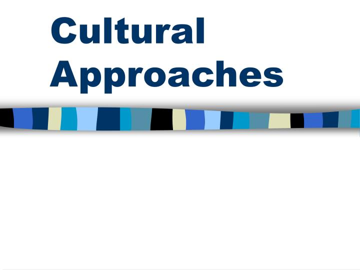 a theoretical approach to culture and The chosen theory for this paper is madeleine leininger's culture care diversity and universality care theory this theory focuses on the fact that different cultures have different caring behavior and different health or illness values, belief, and pattern of behavior (rubyks, 2008.