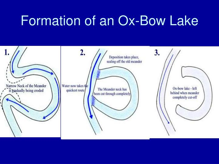Formation of an Ox-Bow Lake