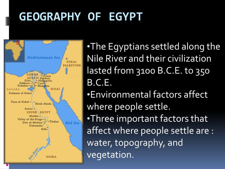 the importance of the river nile for the development of ancient egypt 17052010  the river nile was of major importance in ancient egypt as it played a major part in transportation of people, animals and crops and allowed for easy communication.