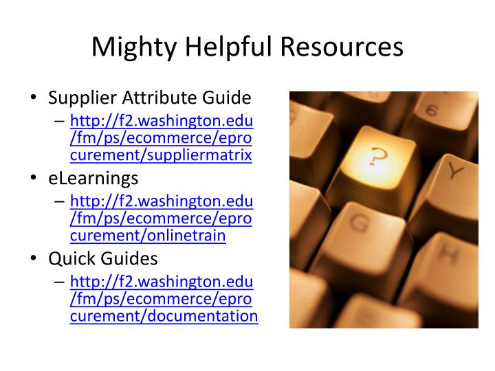 Mighty Helpful Resources