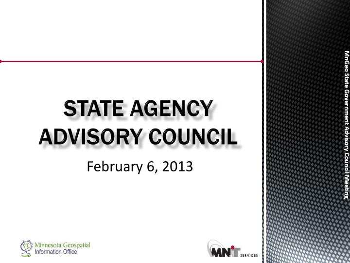 state agency advisory council n.