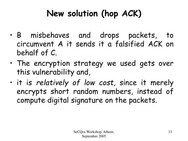 New solution (hop ACK)