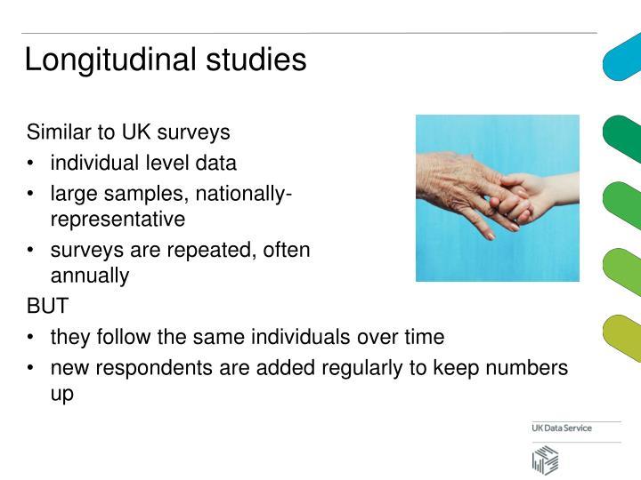 Longitudinal studies