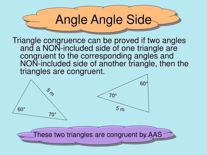 Angle angle side