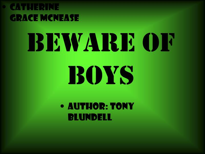 beware of boys n.