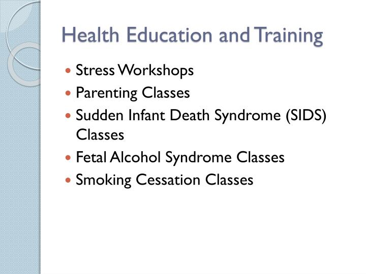 Health Education and Training