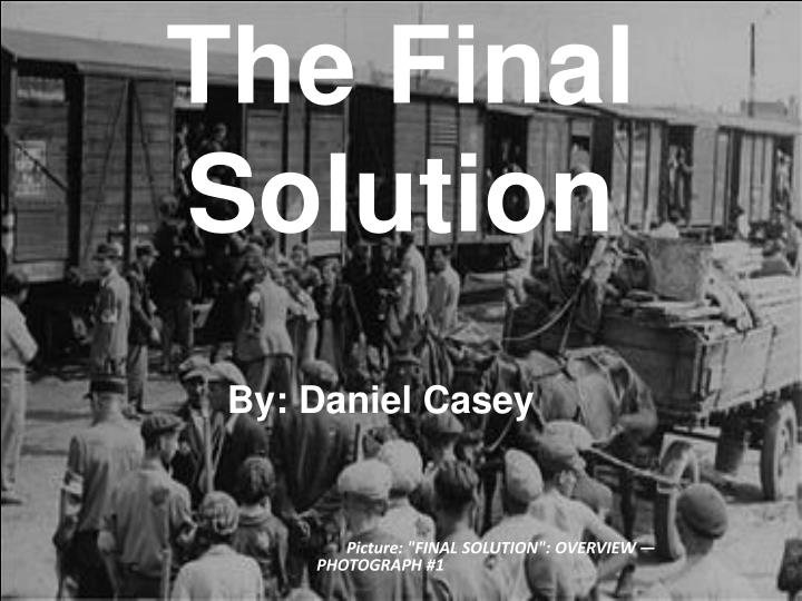 the final solution n.