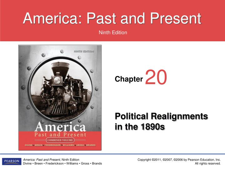 political realignments in the 1890s n.