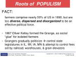 roots of populism