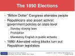 the 1890 elections