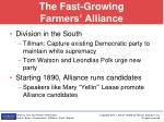 the fast growing farmers alliance1
