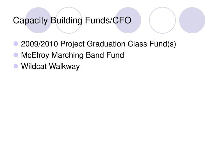 Capacity Building Funds/CFO