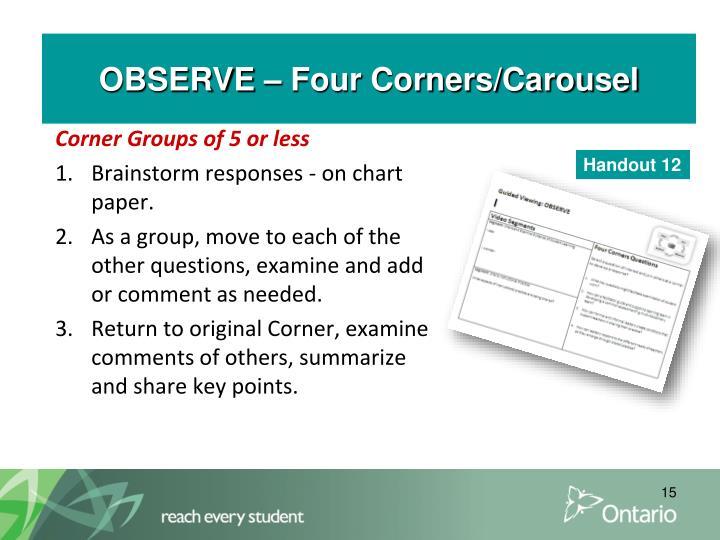 ACT – Four Corners