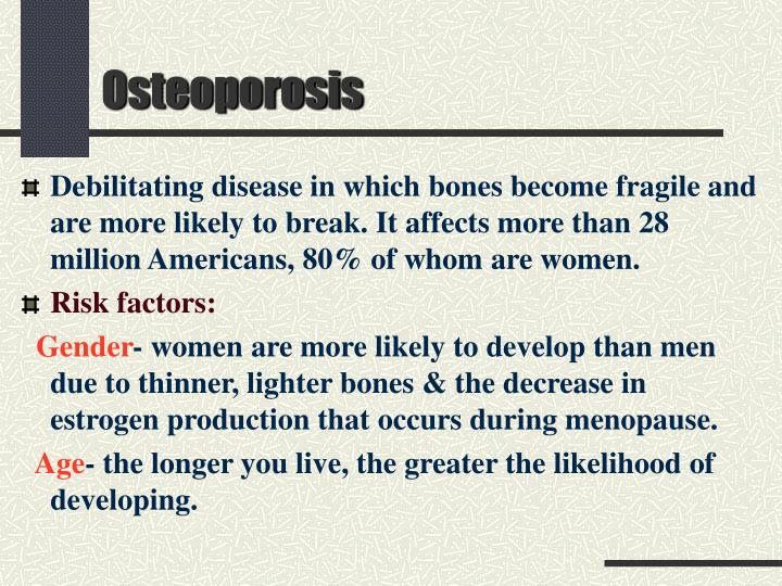 Ppt Osteoporosis Powerpoint Presentation Free Download Id 2995464