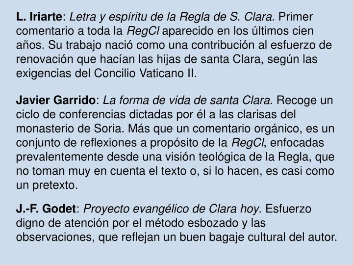 L. Iriarte