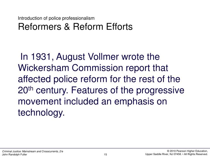 what is police jurisdiction how was the historical development of police agencies affected police ju Delving into police history made it apparent that some assumptions that now operate as axioms in the field of policing (for example that effectiveness in policing depends.