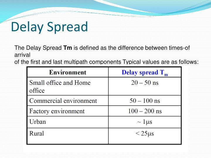 Delay Spread