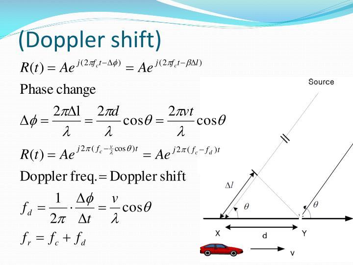 (Doppler shift)