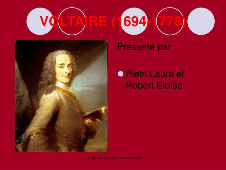 voltaire 1694 1778 n.