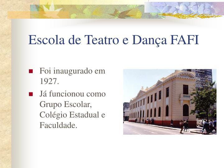 Escola de Teatro e Dança FAFI
