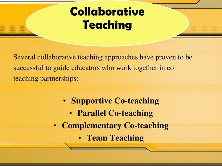 Collaborative Co Teaching Model : Ppt coaching cycle continuum powerpoint