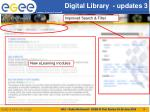 digital library updates 3