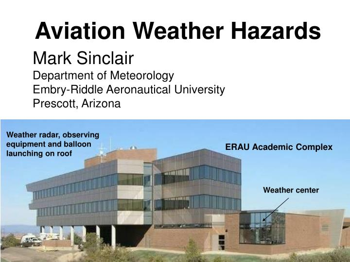 aviation weather hazards n.