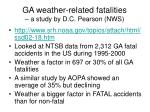 ga weather related fatalities a study by d c pearson nws