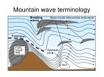 mountain wave terminology