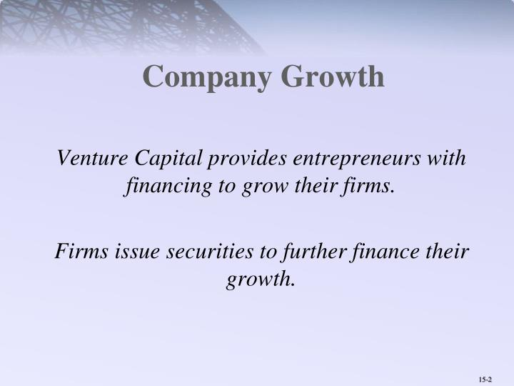 Company Growth