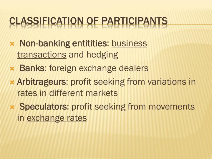 Non-banking