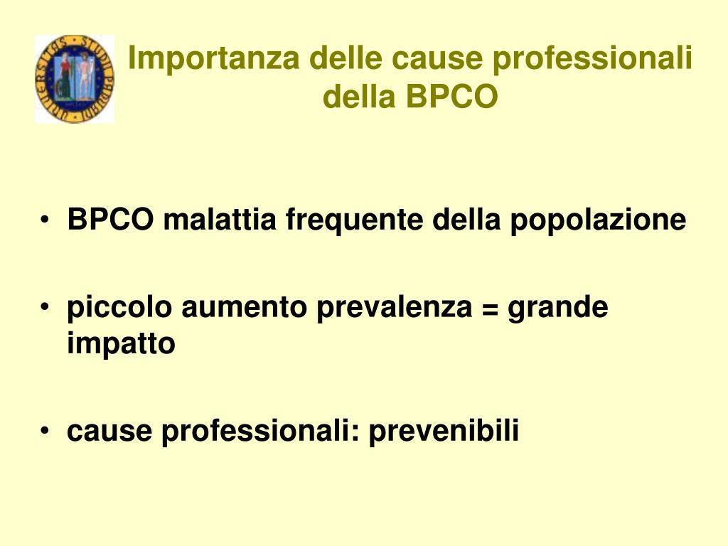 PPT - Classificazione delle broncopneumopatie..