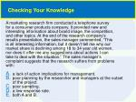 checking your knowledge3