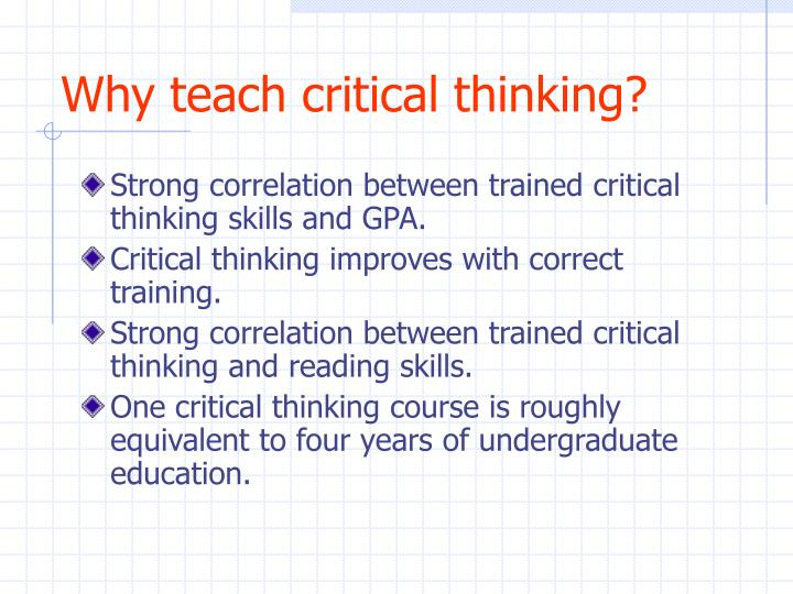 critical thinking courses in london The pd training critical thinking training course provides training in identifying support structures, perspectives and arguments and how to critically evaluate the advantages and the disadvantages of a proposed plan or an action, so that the right decisions can be made the first time.