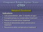 congenital talipes equino varus ctev23