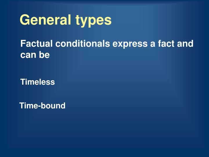 General types