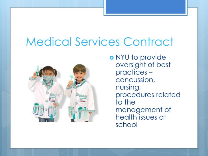 Medical Services Contract