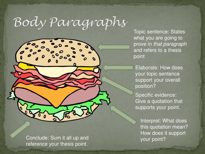 Body Paragraphs