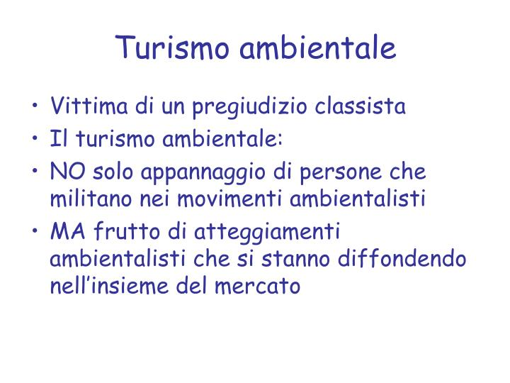 Turismo ambientale