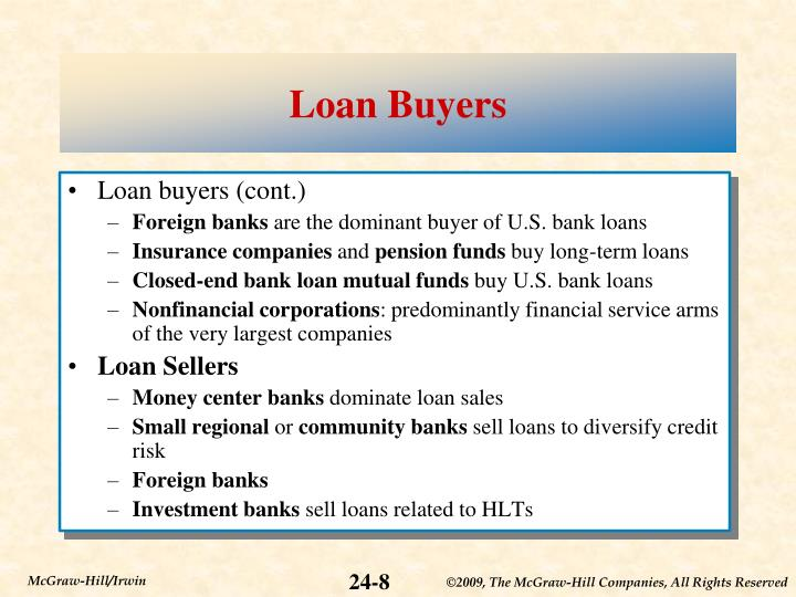 Loan Buyers