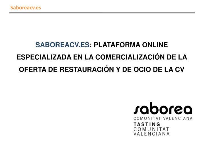 Saboreacv.es