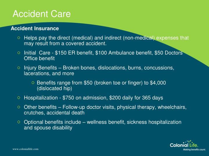Accident Care