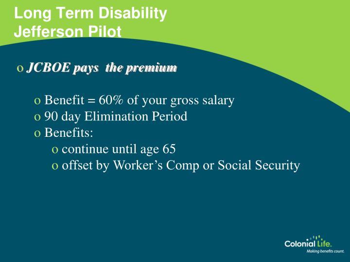 Long Term Disability